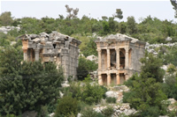Imbriogon Mausoleums Photo Gallery (Mersin, Silifke, Demircili)