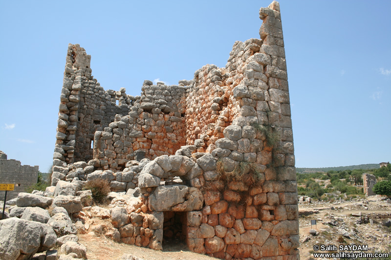 Kanytella (Kanlidivane, Canytellis) Photo Gallery 3 (Hellenistic Tower) (Mersin, Silifke)