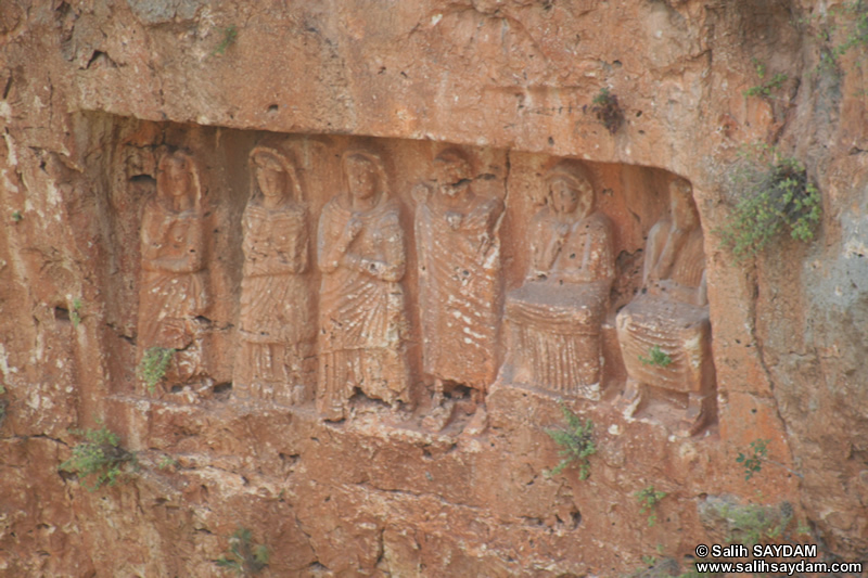 Kanytella (Kanlidivane, Canytellis) Photo Gallery 9 (Rock-Cut Reliefs) (Mersin, Silifke)