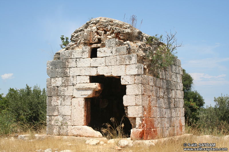 Kanytella (Kanlidivane, Canytellis) Road Photo Gallery 1 (Tomb) (Mersin, Silifke)