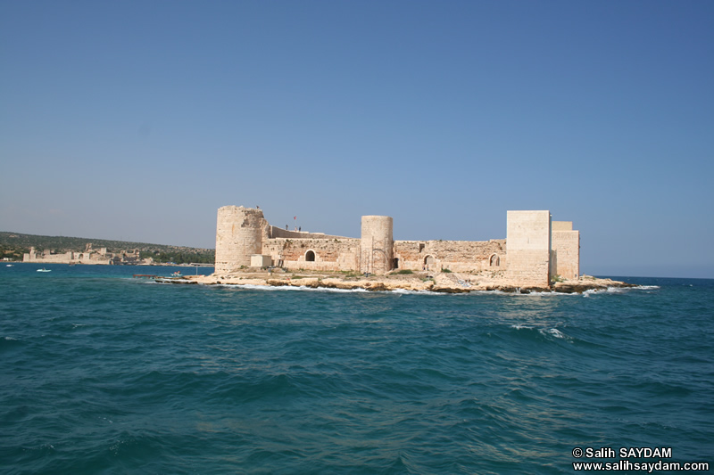 Maiden's Castle (Korykos, Kizkalesi) Photo Gallery 11 (Outer Castle ve Interior Castle Together) (Mersin, Erdemli, Maiden's Castle)