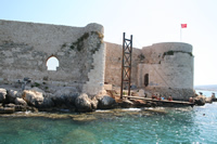 Maiden's Castle (Korykos, Kizkalesi) Photo Gallery 16 (Interior Castle) (Mersin, Erdemli, Maiden's Castle)