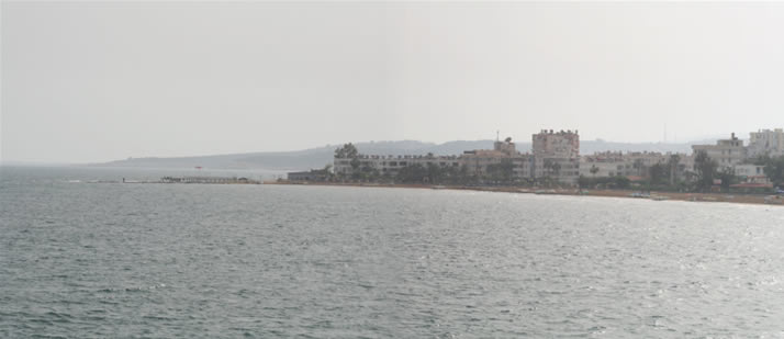 Panorama of Sightings from Outer Castle (Korykos, Maiden's Castle) 2 (Mersin, Erdemli, Kizkalesi)