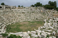Diocaesarea (Uzuncaburc) Photo Gallery 3 (Antique Theatre) (Mersin, Silifke)