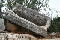 Ruins Between Diocaesarea (Uzuncaburc) and Kizkalesi Photo Gallery (Mersin)