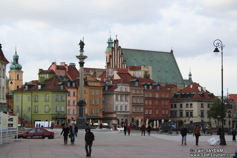 Castle Square Photo Gallery 1 (Old Town, Warsaw, Poland)