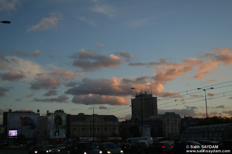 Sunset in Warsaw Photo Gallery (Warsaw, Poland)