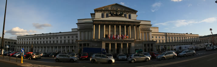 Panorama of Grand Theatre - National Opera (Teatr Wielki�Opera Narodowa) 1 (Warsaw, Poland)