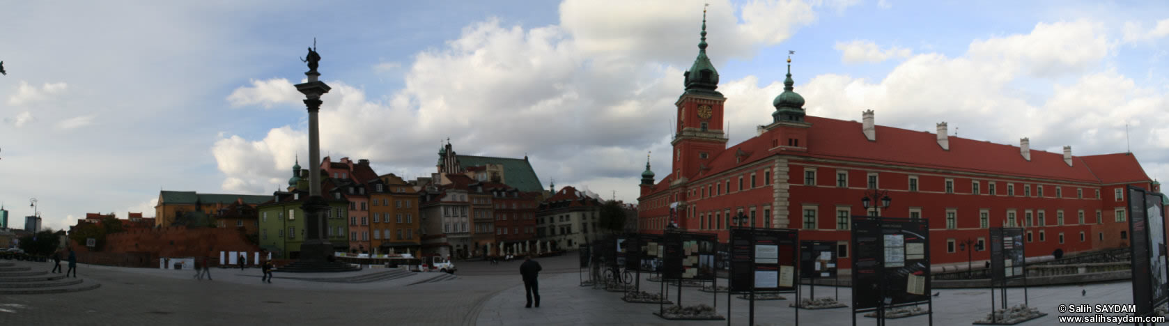 Old Town Panorama 10 (Castle Square, Warsaw, Poland)