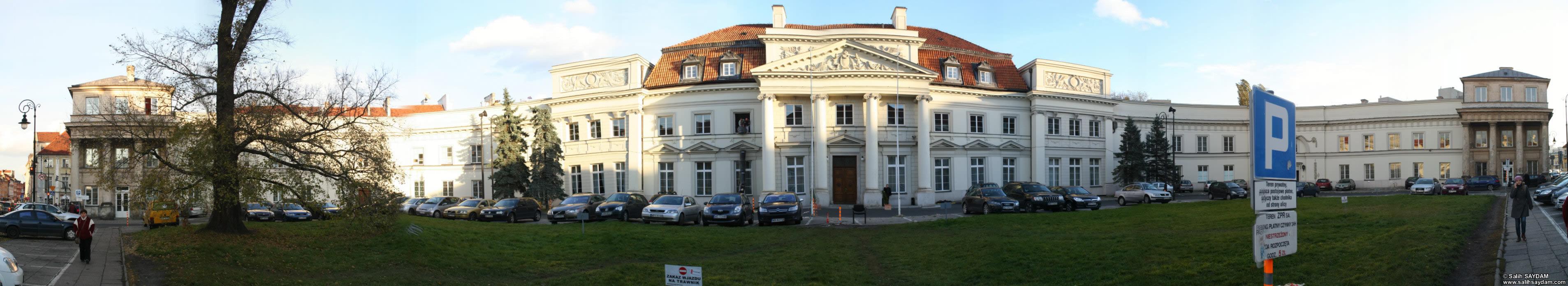Majestic panorama at hofburg palace