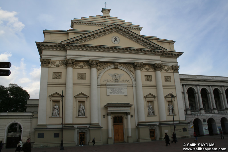 St.Anne's Church (Kosci�l sw. Anny) Photo Gallery (Warsaw, Poland)