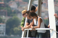 Boat Travellers Photo Gallery (Istanbul, Kanlica)