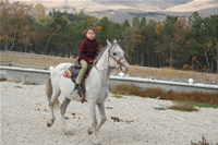 Sevenay Saydam Photo Gallery 6 (Horse Riding)