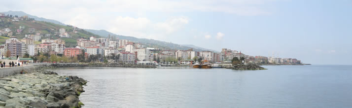 Panorama of Akcaabat 1 (Trabzon)