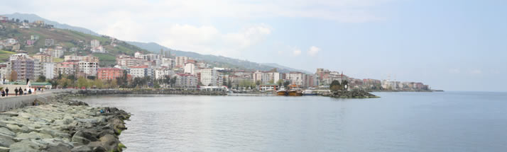 Panorama of Akcaabat 2 (Trabzon)
