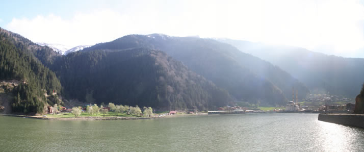 Panorama of Uzungol (Long Lake) 1 (Trabzon)