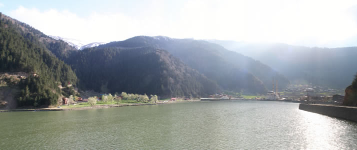 Panorama of Uzungol (Long Lake) 2 (Trabzon)