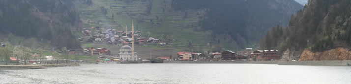 Panorama of Uzungol (Long Lake) 3 (Trabzon)